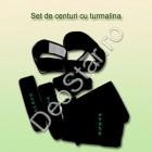 Set antireumatism si antidurere de centuri cu turmalina (4 piese)