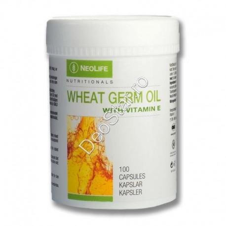 Wheat Germ Oil (Ulei din germeni de grau cu vitamina E)